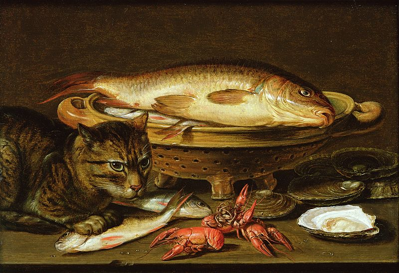 Clara Peeters A still life with carp